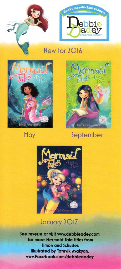 Mermaid Tales bookmark 1-16