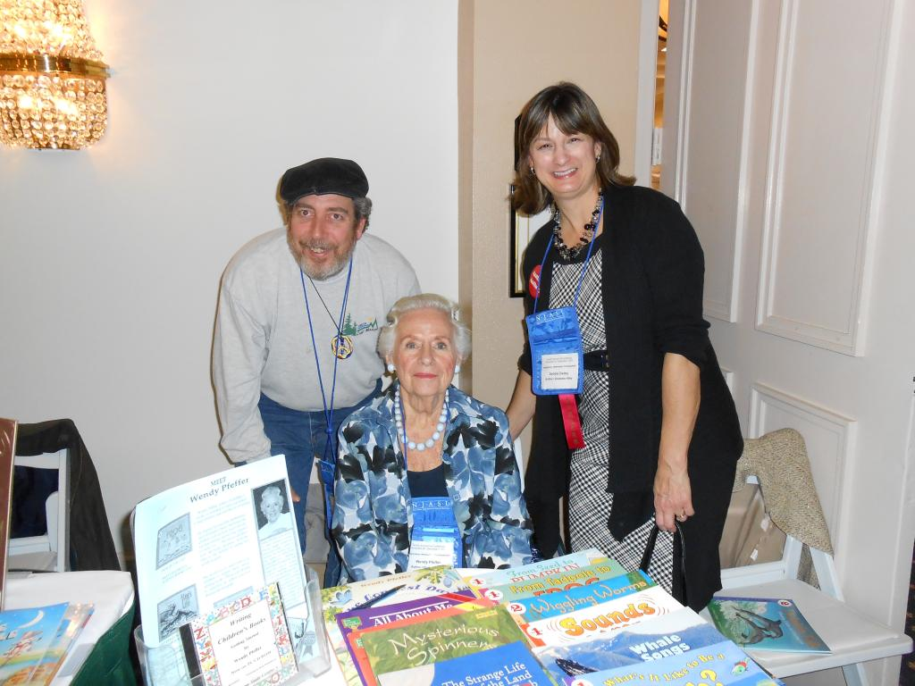Fellow author, Wendy Pfeffer, and Debbie