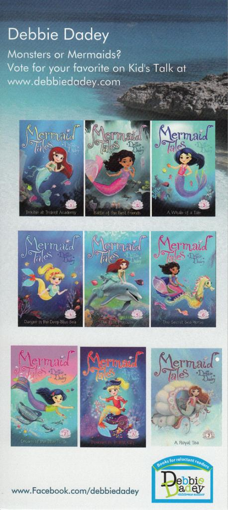 monsters or mermaids bookmark