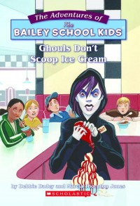 new cover for Ghouls Don't Scoop Ice Cream