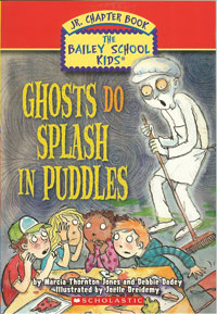 Ghosts Do Splash in Puddles