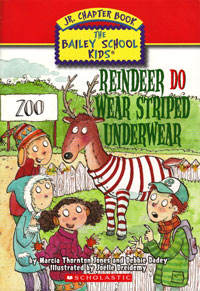 Reindeer Do Wear Stiped Underwear