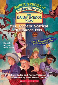 Mrs. Jeepers's Scariest Halloween Ever