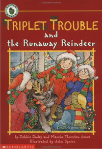 Triplet Trouble and the Runaway Reindeer