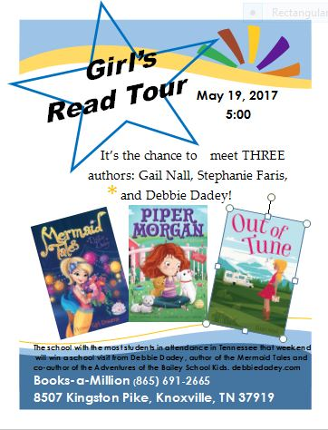 Knoxville Girls' Read tour