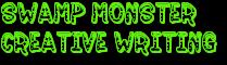 Swamp Monster Creative Writing