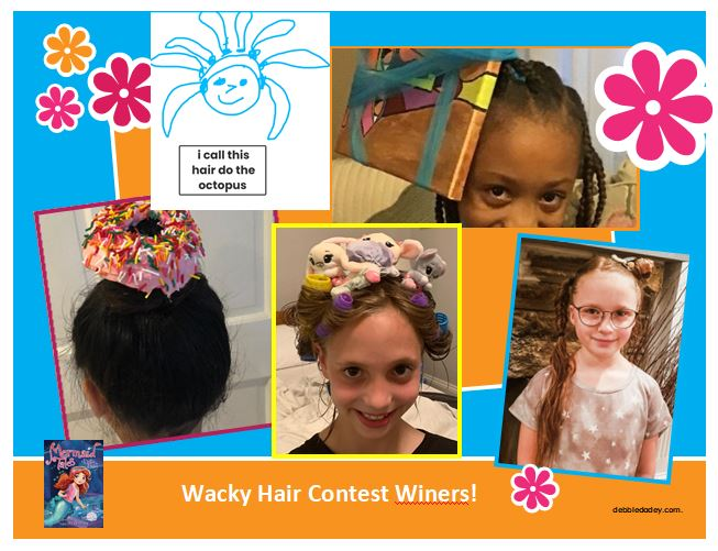 Wacky hair day contest winners