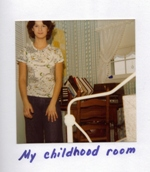 Debbie Dadey's childhood room