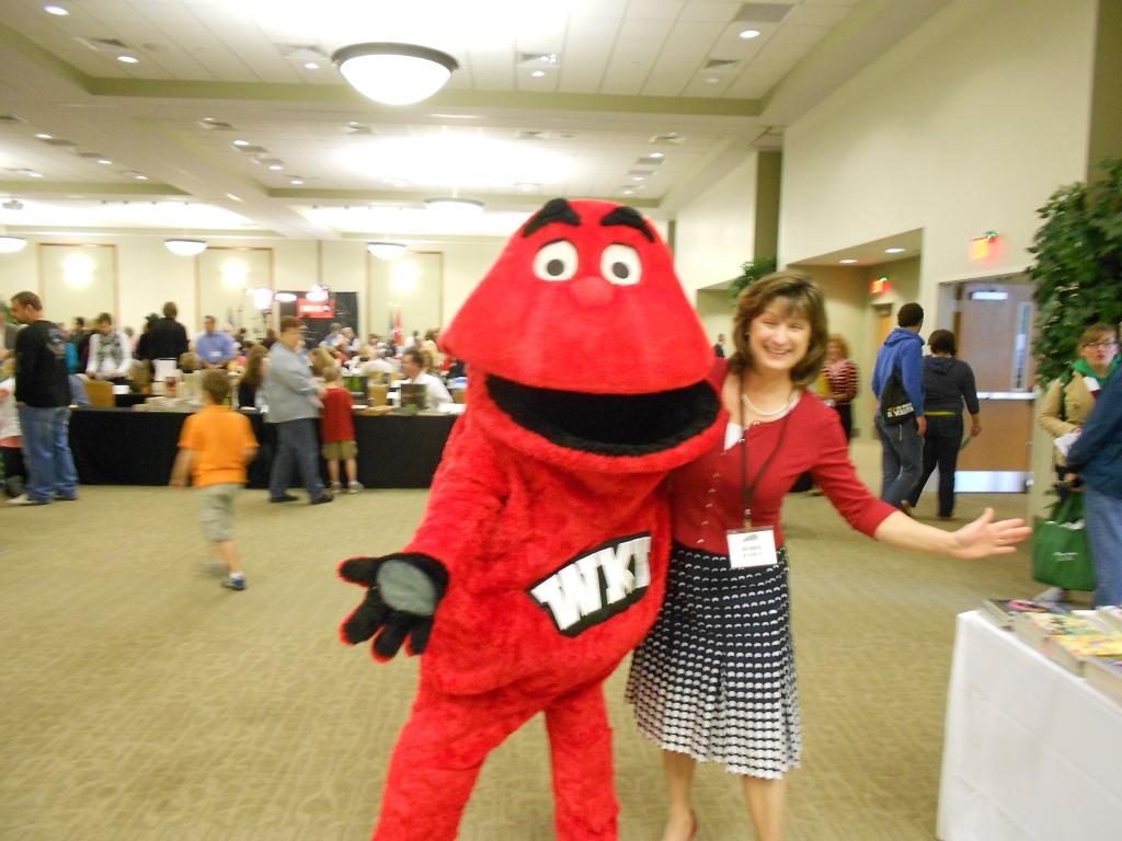 Debbie and WKU Big Red