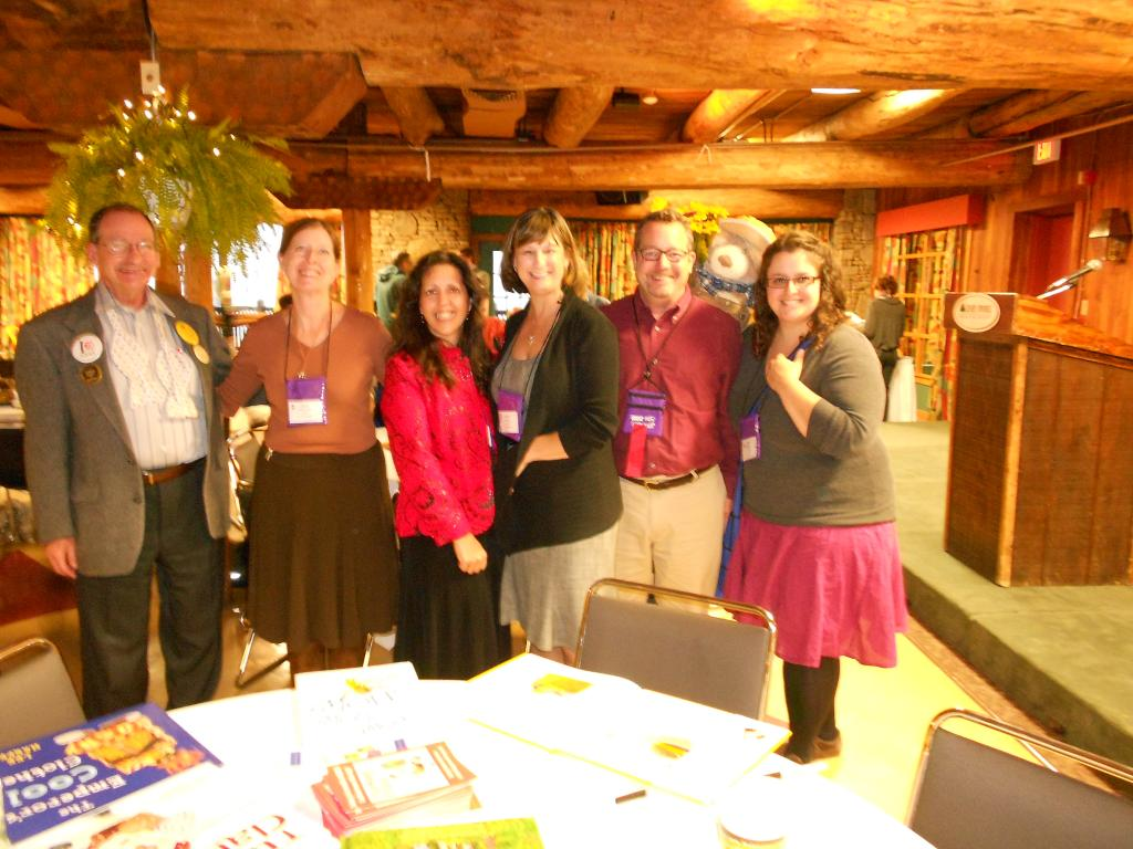 Debbie and authors at 2012 KSRA