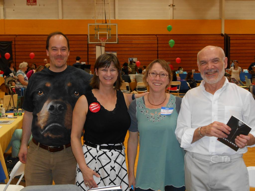 Michael Northrop, Debbie Dadey, Lisa Jahn-Clough, and Bruce Coville
