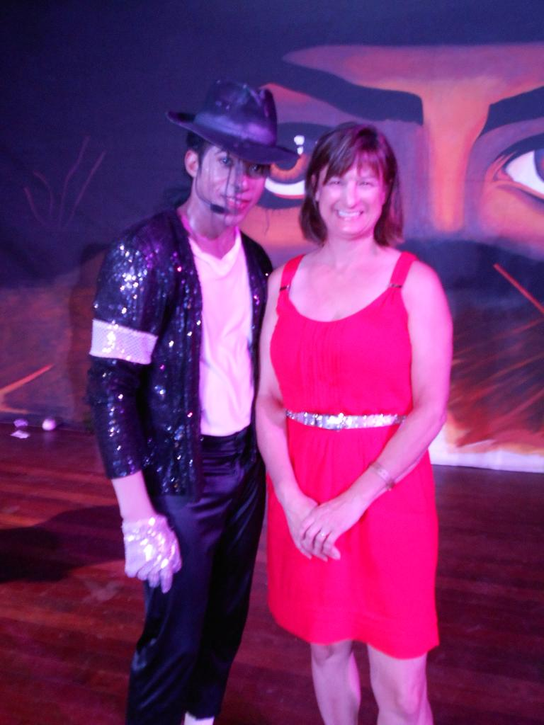 Debbie and 'Michael Jackson'