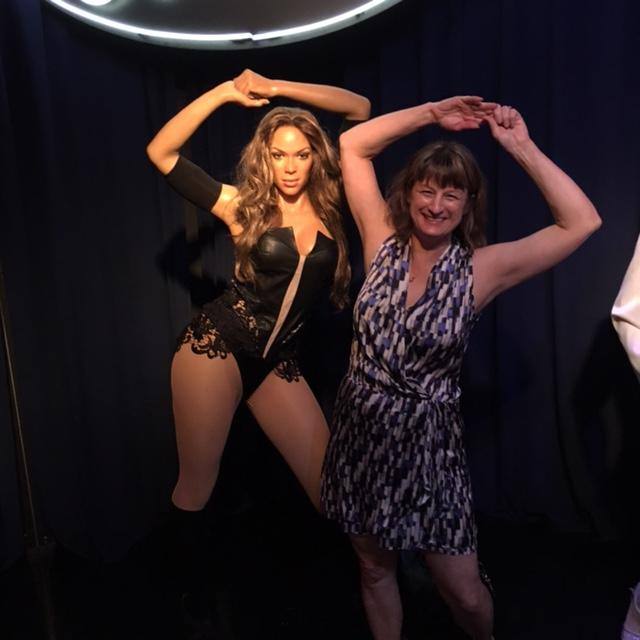 Beyonce and Debbie