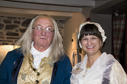 Ben Franklin and Debbie
