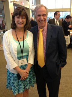 Debbie and Henry Winkler
