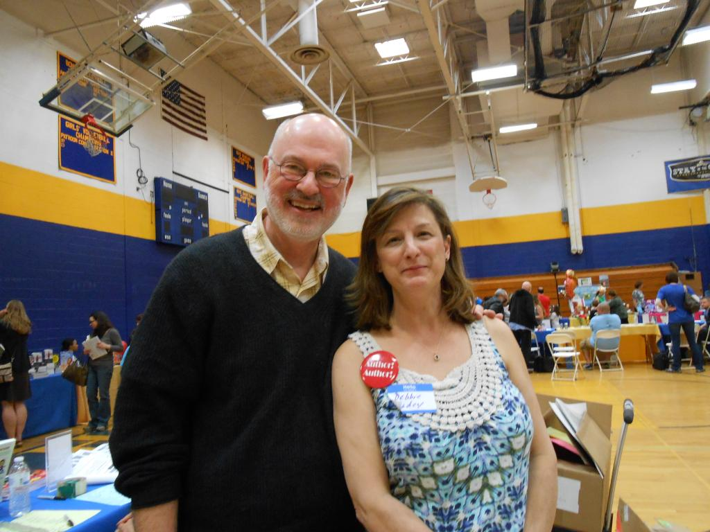 James Howe and Debbie Dadey
