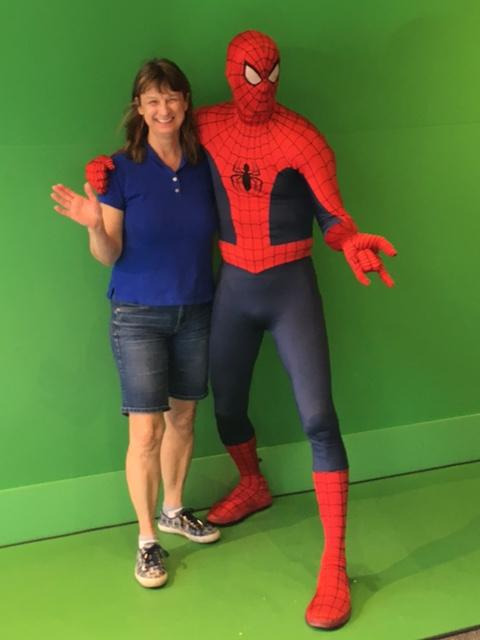 Debbie and Spiderman