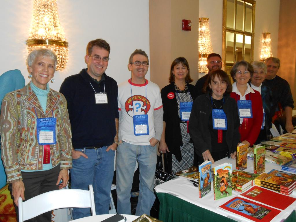 authors at NJASL 2012
