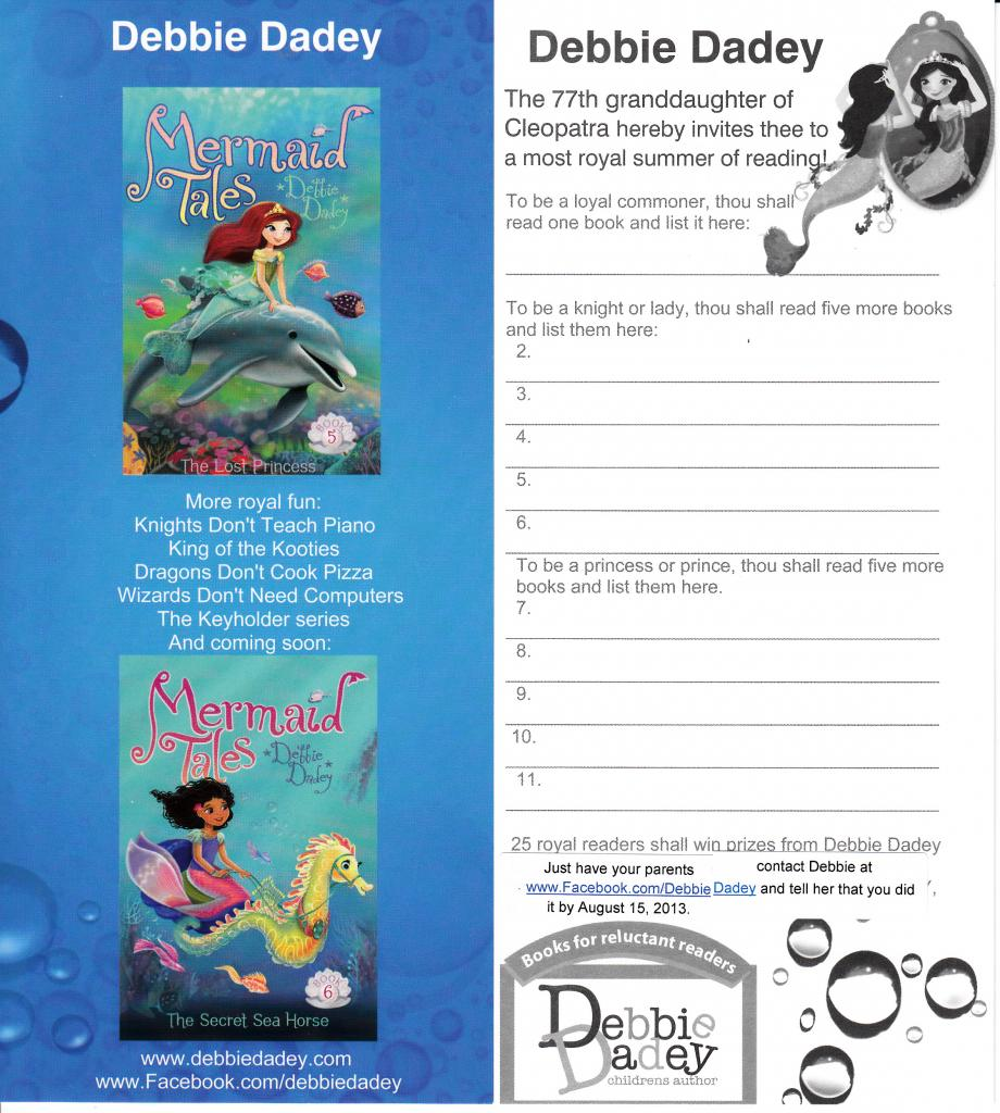 Royal Summer Reading bookmark