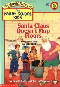 Santa Claus Doesn't Mop Floors original cover