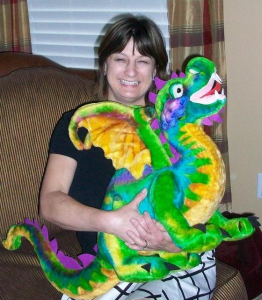 Debbie and dragon