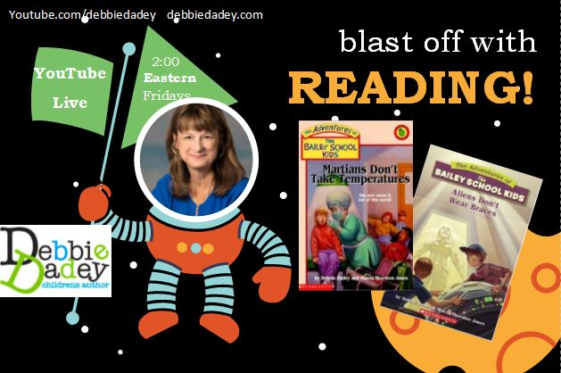 Debbie Dadey will read aloud on YouTube