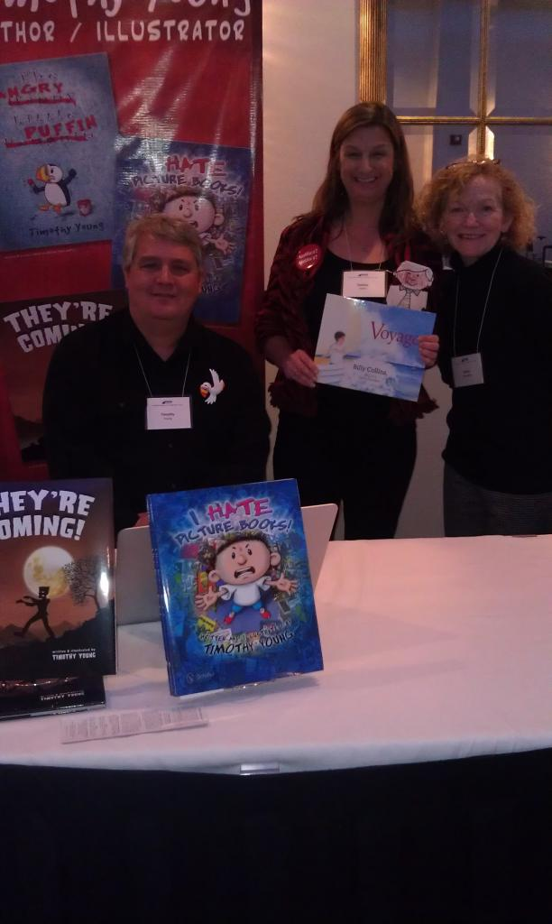 Timothy Young, Debbie and Karen Romagna