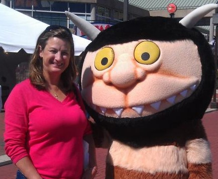 Debbie and a Wild Thing